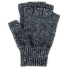 Possum Merino fingerless gloves medium