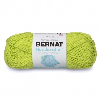 Bernat Handicrafter Cotton Lime Green