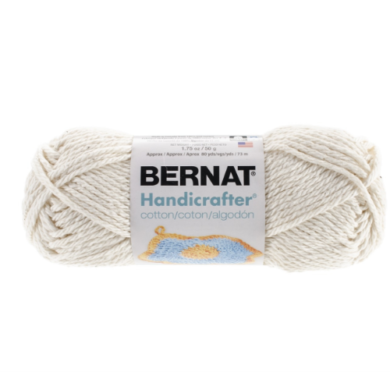 Bernat Handicrafter Cotton White