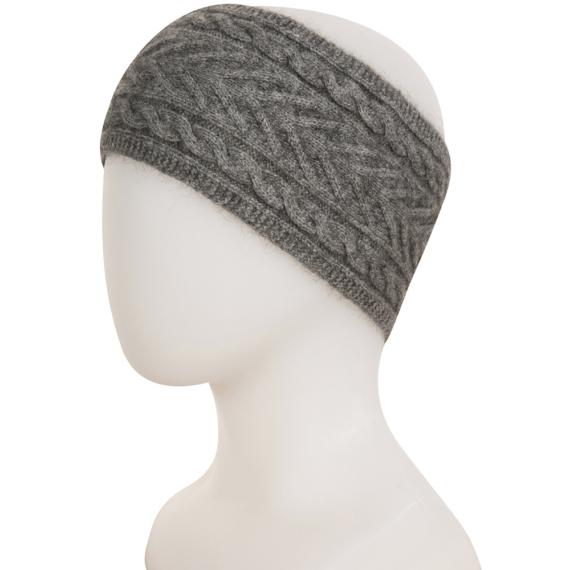 Possum Merino Cable Headband