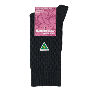 Humphrey Law Merino Wool Diamond Pattern Sock