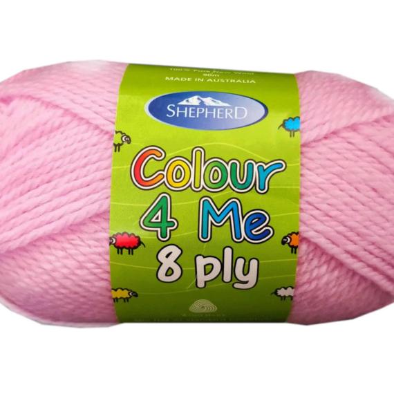 Shepherd Colour 4 me 8ply Pink - 4962