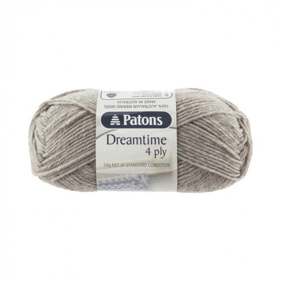 Dreamtime Merino Wool 4 ply Moccasin - 4898
