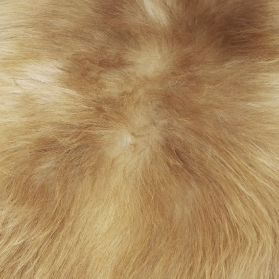Long Wool Sheepskin Rug Natural