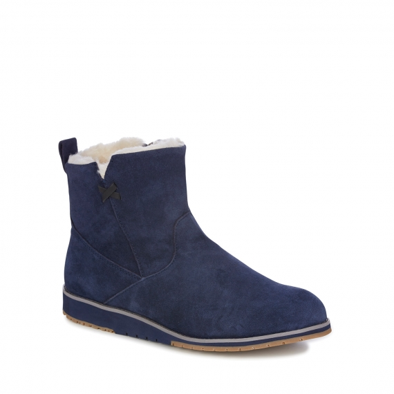 Emu Beach Mini Sheepskin Boots - Dove Grey