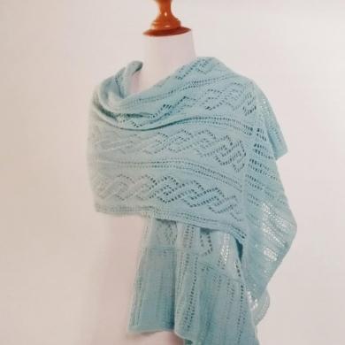 Naturally 2 Ply Lace Shawl Pattern