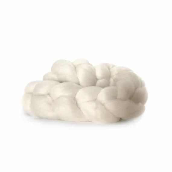 Merino Wool Roving 115g Natural
