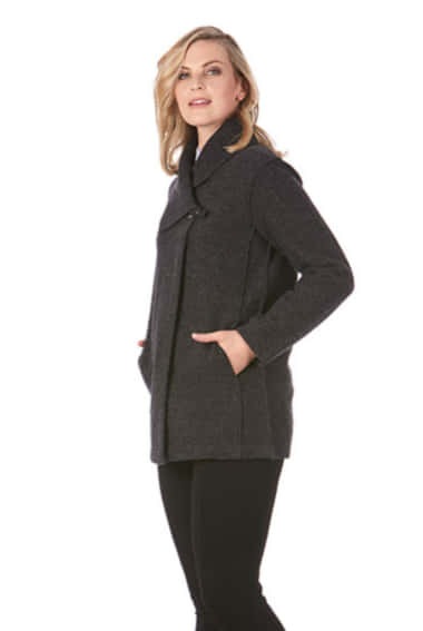Bella Buckled Wool Jacket