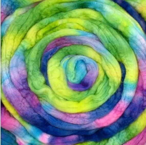 Merino Wool Roving 115g Breeze