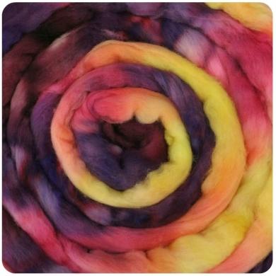 Merino Wool Roving 115g Calypso