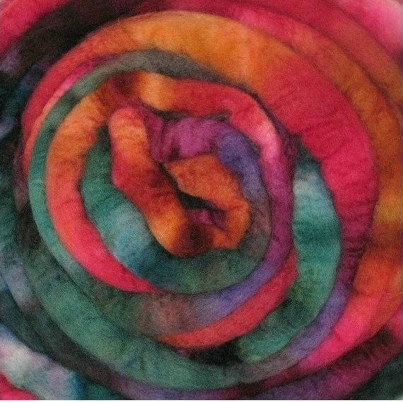 Merino Wool Roving 115g Tapestry