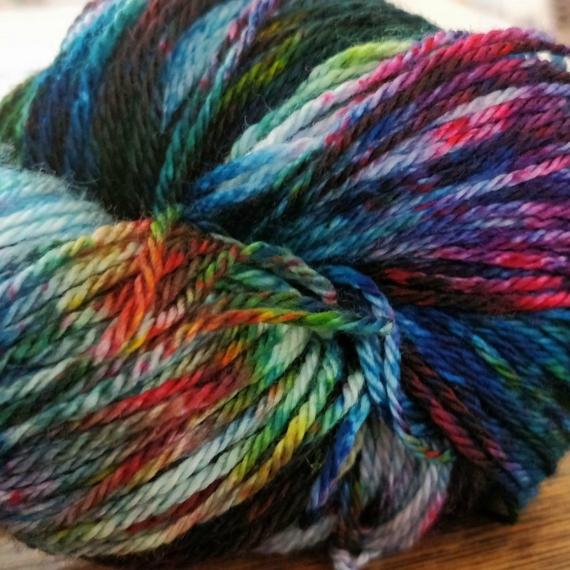 Hand Dyed Merino Wool 4 Ply 100g - Amazon Dream