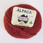 Heirloom Alpaca 8 Ply - Havana