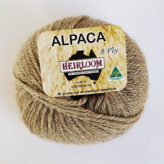 Heirloom Alpaca 8 Ply - Havana