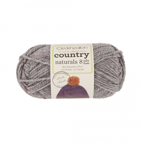 Cleckheaton Country Naturals 8 ply Silver