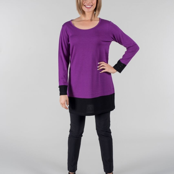 Merino Essentials Long Sleeve Tunic