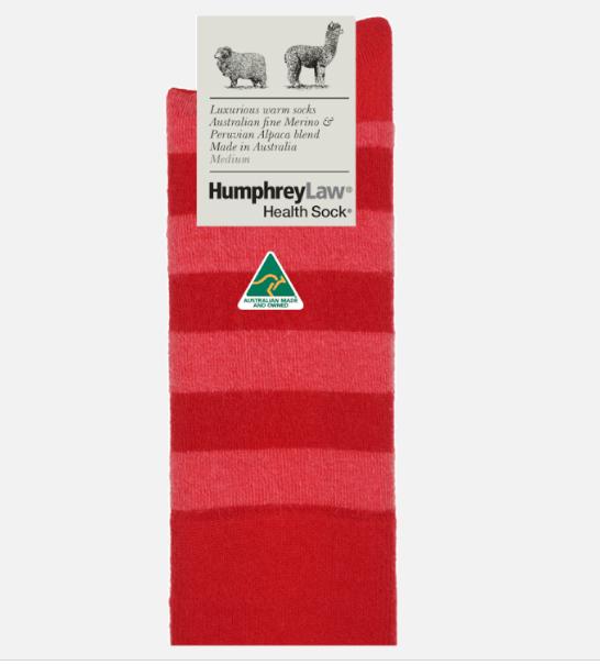 Fine Merino & Baby Alpaca Socks - Ladies 3-8, Pink