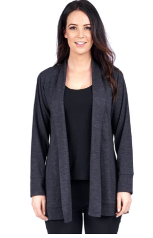 Merino Essentials Cardigan Black