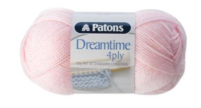 Dreamtime Merino Wool 4 ply Peony Pink 3900