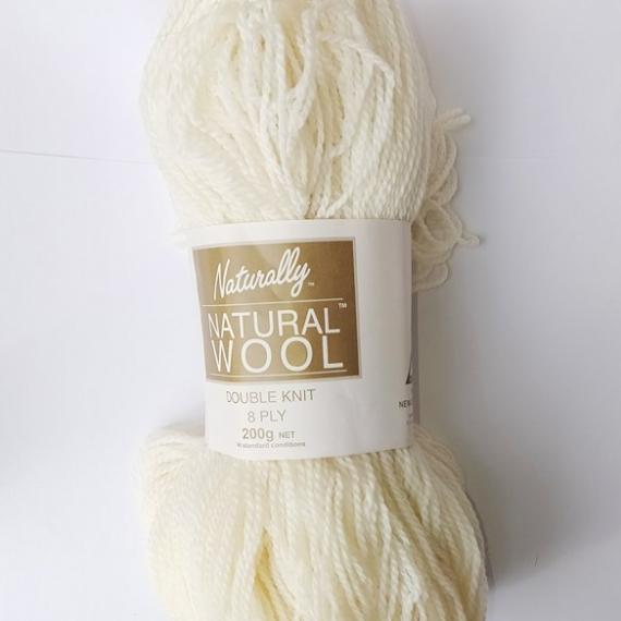 Naturally Natural Wool 8 Ply 200g Brown