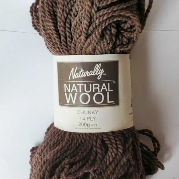 Naturally Natural Wool 14 Ply 200g Cream