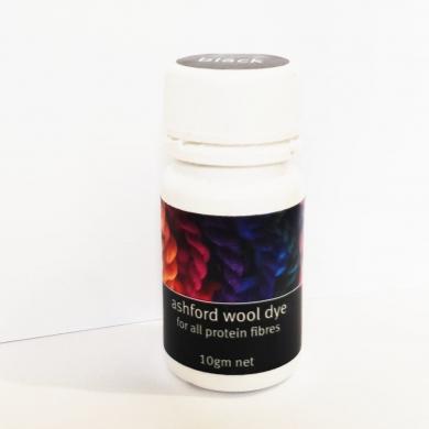 Ashford Acid Dye 10g Black