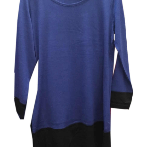 Merino Essentials Long Sleeve Tunic Navy