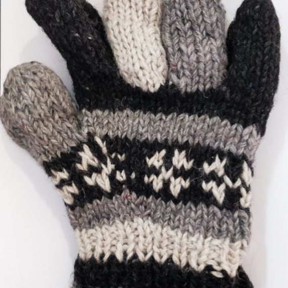 Wool Gloves With Lining