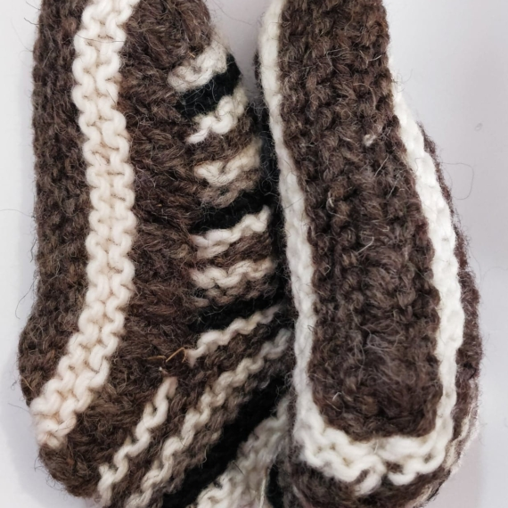 Wool Booties With Lining