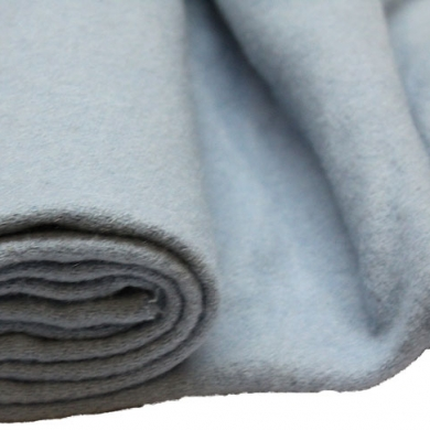100% Merino Wool Blanketing Felt Light Blue 100cm x 90cm