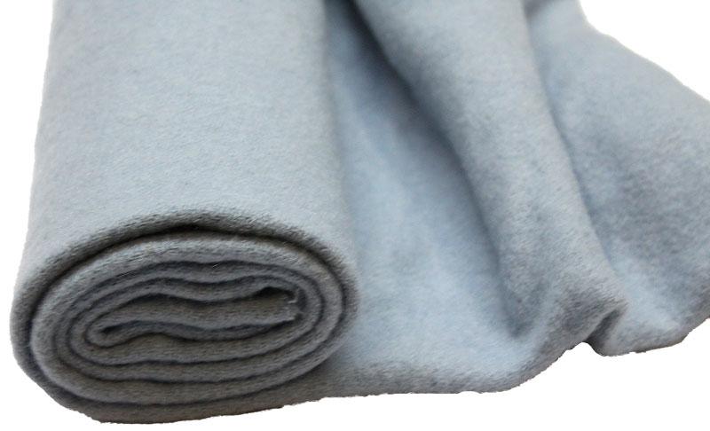 100% Merino Wool Blanketing Felt Light Blue 100cm x 90cm