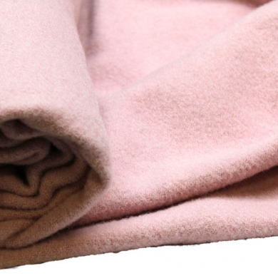 100% Merino Wool Blanketing Felt Light Pink 100cm x 90cm
