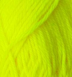 Loyal 8 Ply Wool - Fluro Yellow