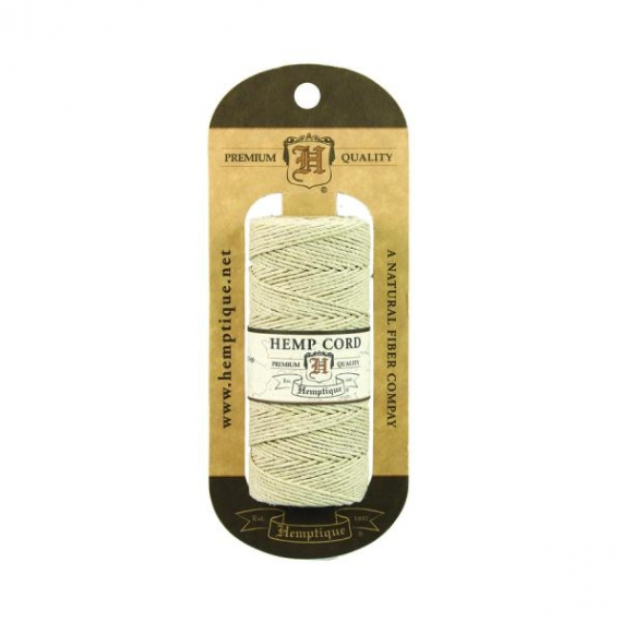 Hemp Macrame Cord 62.5m - Natural