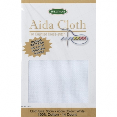 Aida Cloth 14ct White