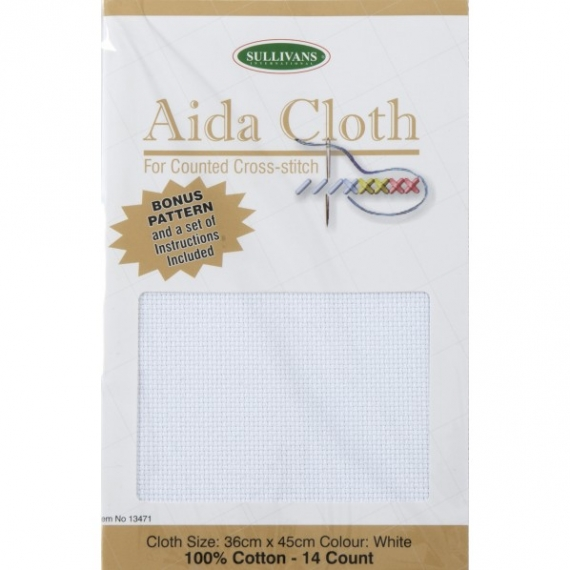 Aida Cloth 14ct White