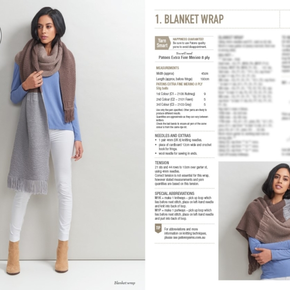 Scarves, Beanies & Wraps Book 361