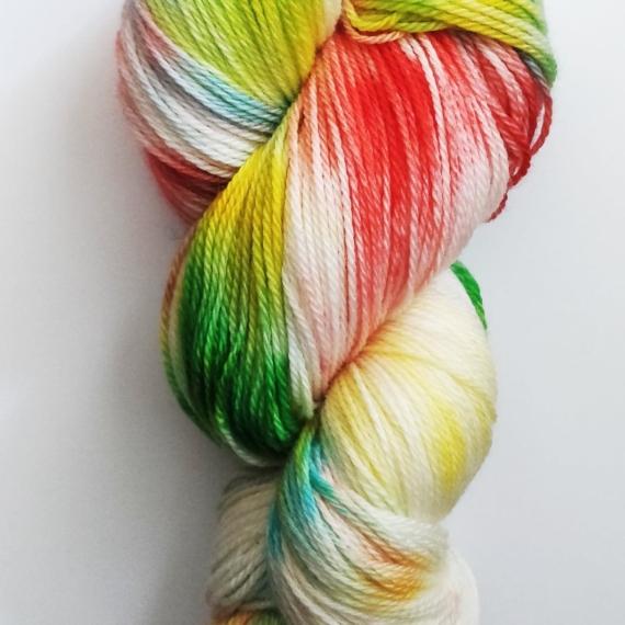 Hand Dyed Merino Wool 4 Ply 100g - Savannah