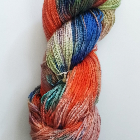 Hand Dyed Merino Wool 4 Ply 100g - Afternoon