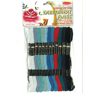 Embroidery Cotton 12pk Spring