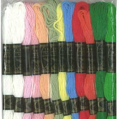 Embroidery Cotton 12pk Autumn