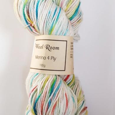 Hand Dyed Merino Wool 4 Ply 100g - Morning