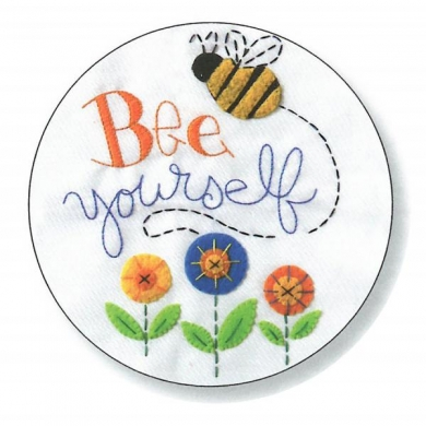 Bucilla Cross Stitch Kit - Bee Yourself