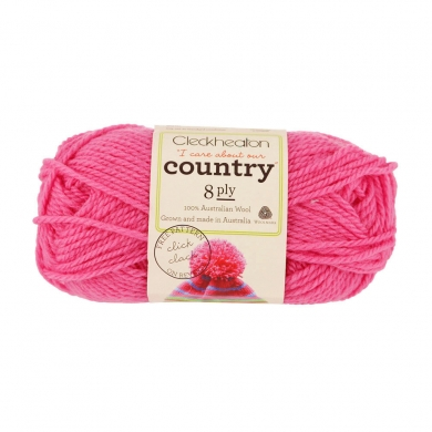 Cleckheaton Country 8 Ply Lolly Pink