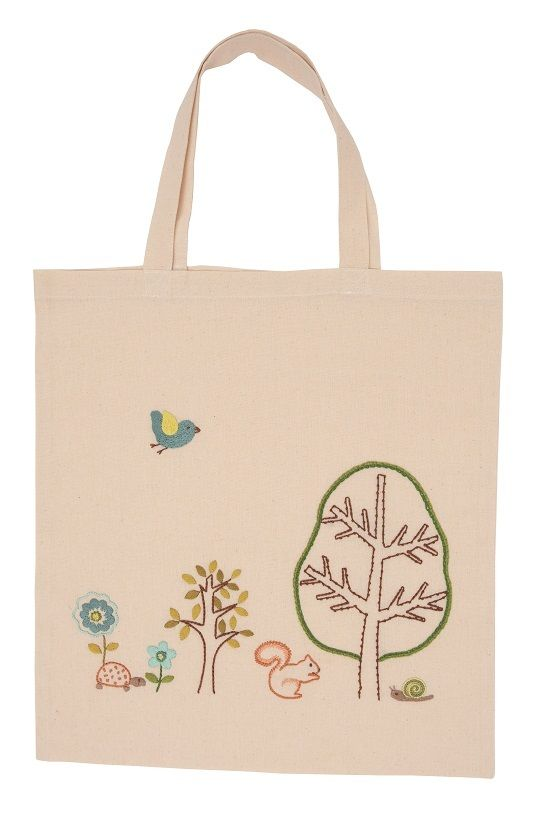 Rico Tote Bag Embroidery Kit