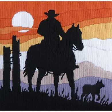 Stockman At Dusk Long Stitch Kit