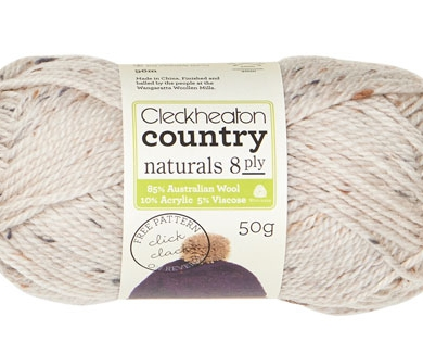 Cleckheaton Country Naturals 8 ply Natural 1805