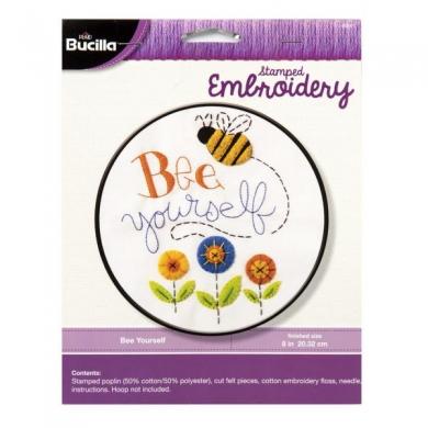 Bucilla Cross Stitch Kit - Bee Yourself