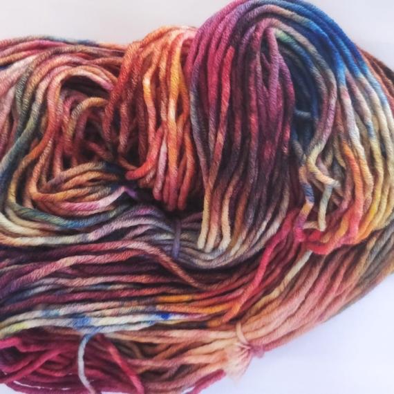 Hand Dyed Merino 14 Ply - Aurora
