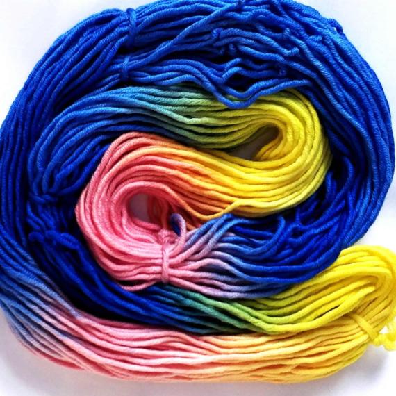 Hand Dyed Merino 14 Ply - Lola